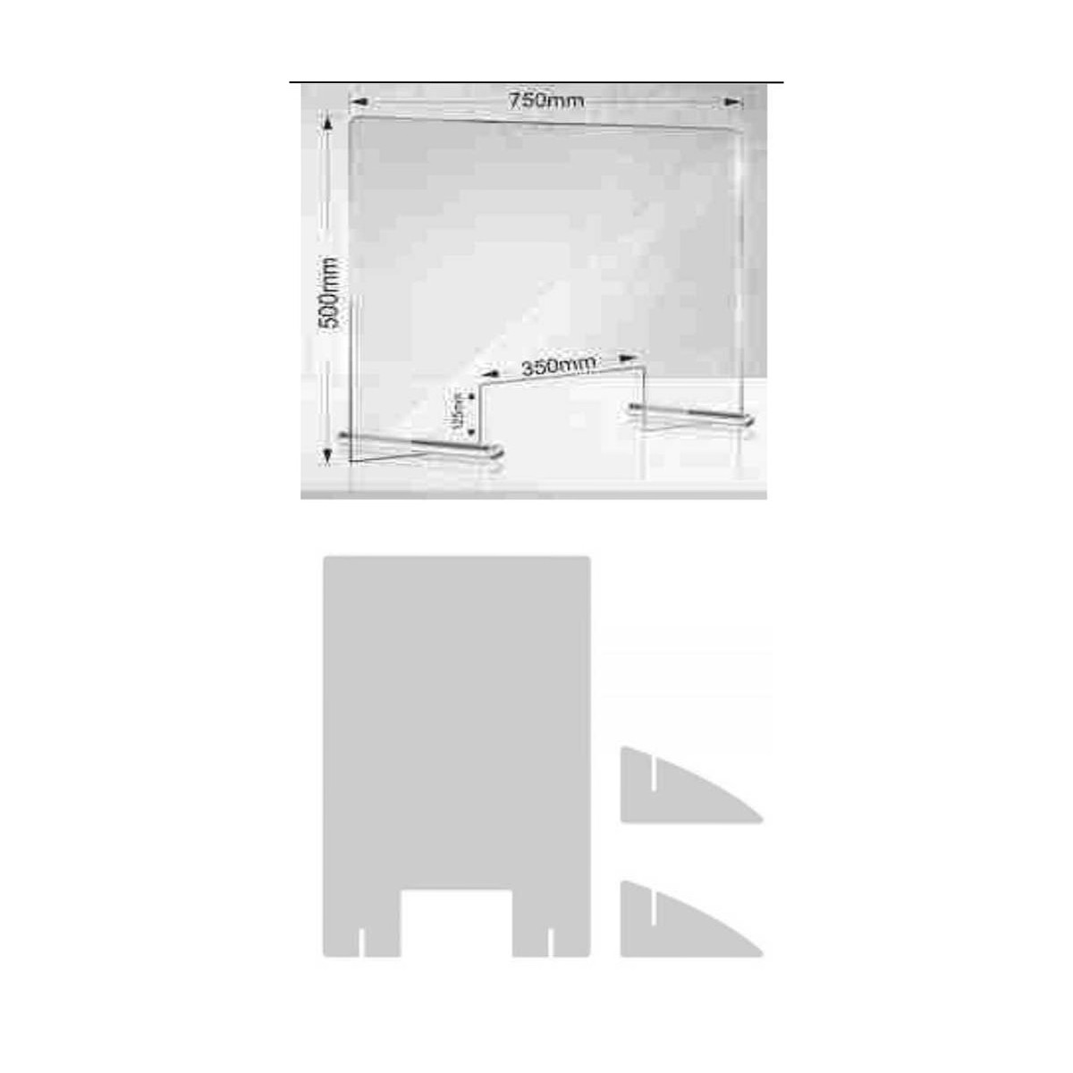 Divisori In Plexiglass Per Esterni schermo di protezione in plexiglass