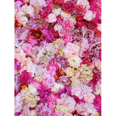 TAPPETO in PVC stampa PEONIE