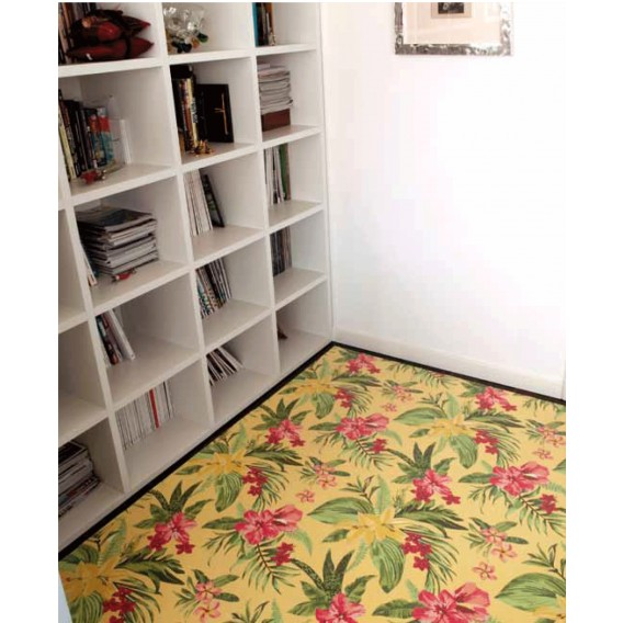 TAPPETO in PVC stampa TROPICAL