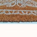 Zerbino in cocco stampato confarfalla cm. 70x40 da ingresso interno ed esterno