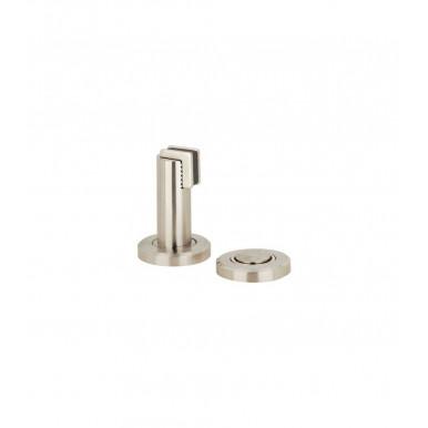 Supporto magnetico blocco porta 75 mm zinco inox Startec