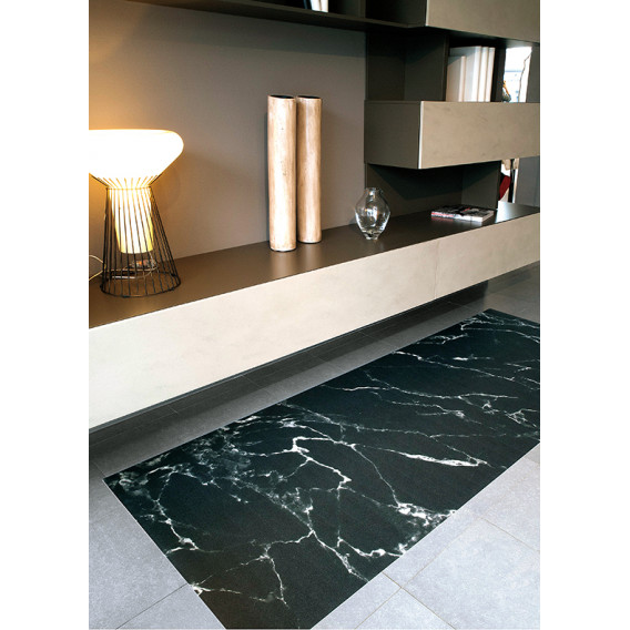 TAPPETO in PVC STAMPA MARMO