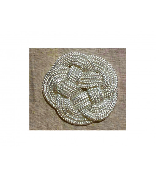 Tappeto in corda di cotone Blu