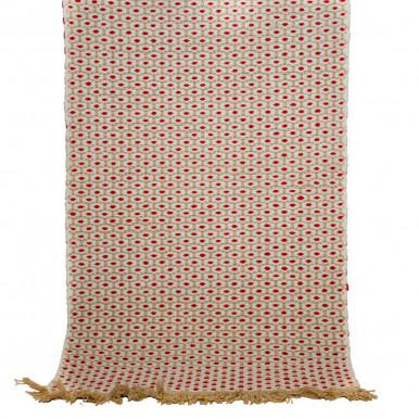 Tappeto bagno scendiletto Bombay con frange cm. 110x55