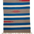 Tappeto bagno cotone con frange fantasie a righe cm.100x62
