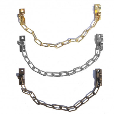 BRASS CHAIN WITH HOOK OMP PORRO