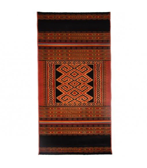 Teppeto etnico fashion orange 80x150 antimacchia