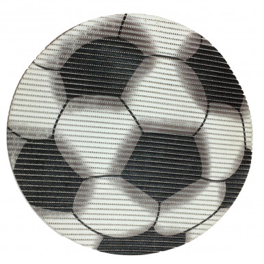 TAPPETO FRIEDOLA in PVC FORMA PALLONE