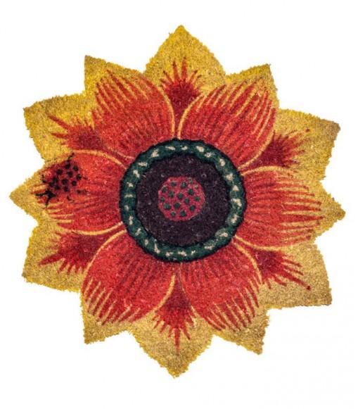 Girasole sagomato stampato colorato