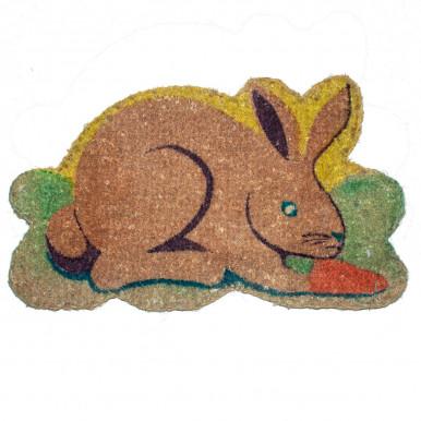 Zerbino cocco sagoma coniglio